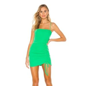 NEW Superdown Fabiana Dress Green Small E12